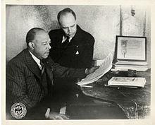 J. Rosamond Johnson and James Weldon Johnson