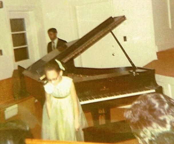 Nina Kennedy at age 9