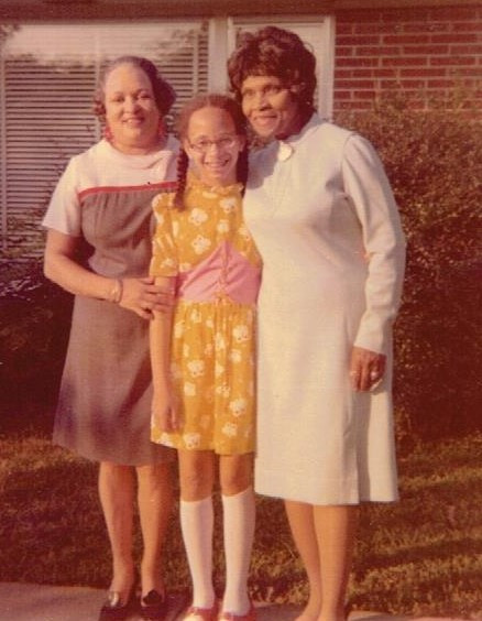 Anne and her daughter Nina with Marian Anderson