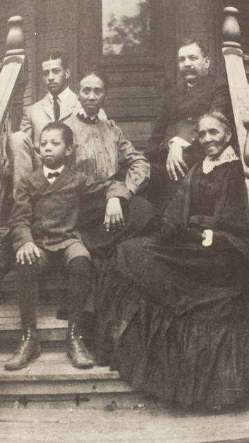 Ella Sheppard and family