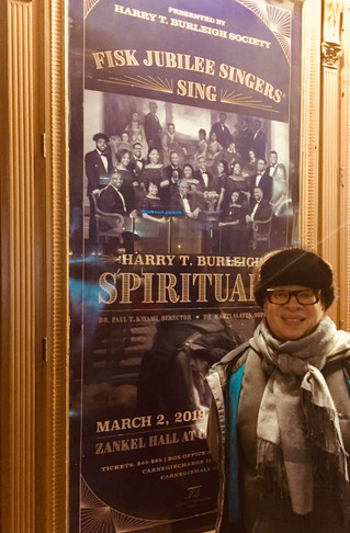 H.T. Burleigh Society Presents the Fisk Jubilee Singers at Carnegie Hall