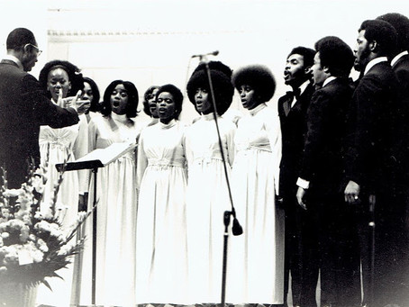 The Fisk Jubilee Singers at the Kennedy Center