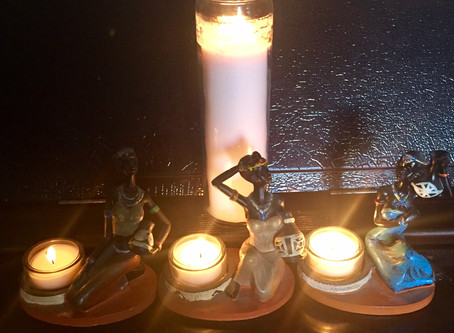 INVOKING THE SPIRITS: WELCOMING BELOVED GHOSTS TO APRIL AND NINA'S 2nd SALON