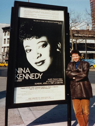 NINA KENNEDY'S 30th Anniversary Celebration of her New York debut at Steinway Hall