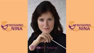 "Conductor Débora Waldman on ""The Noshing with Nina Show"""
