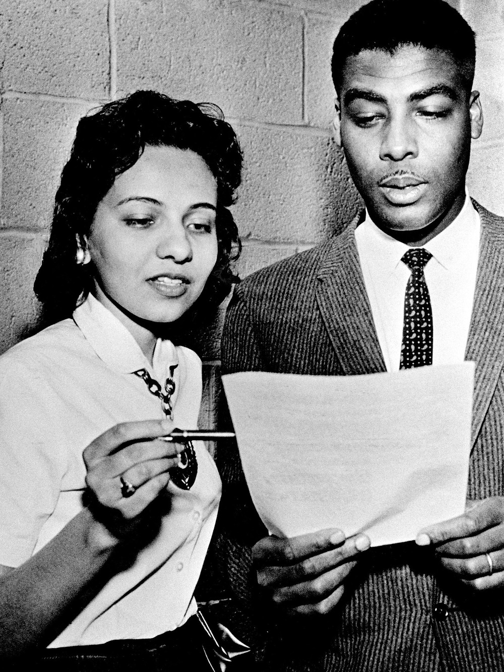 Diane Nash and Kelly Miller Smith