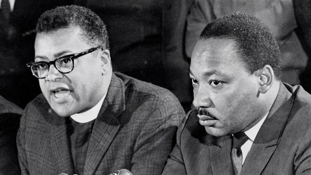 James Lawson and Martin Luther King