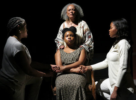 """The Negro Ensemble Company's Production of """"Daughters of the Mock"""" at Theatre 80 St. Marks"""