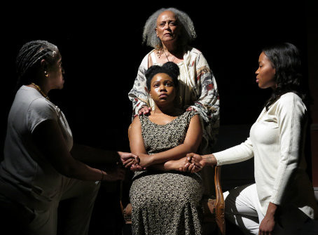 "The Negro Ensemble Company's Production of ""Daughters of the Mock"" at Theatre 80 St. Marks"