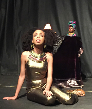 """The Diary of an Afro Goddess"" at the Nuyorican Poet's Café"