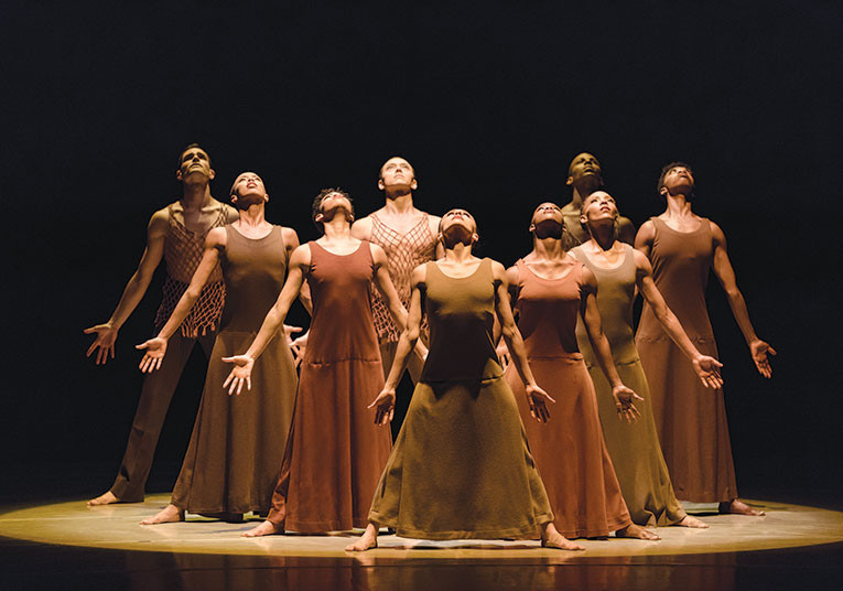 "Alvin Ailey American Dance Theater's ""Revelations."" (photo by Paul Kolnik)"