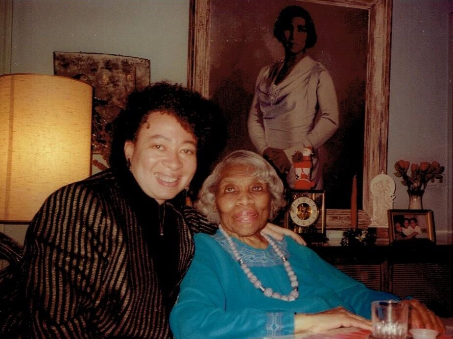 Nina Kennedy with Marian Anderson
