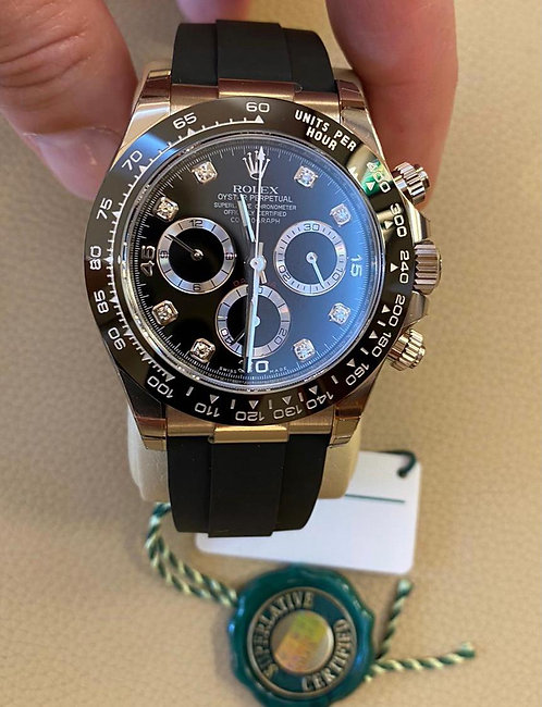Rolex 116519LN Daytona Osyterflex White Gold Grey Dial