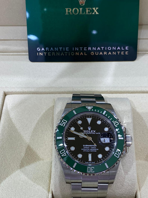 Rolex Submariner Date 41mm Green Dial