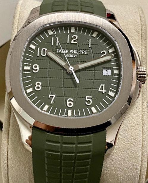 Patek Philippe5168G-010 Aquanaut Green Dial
