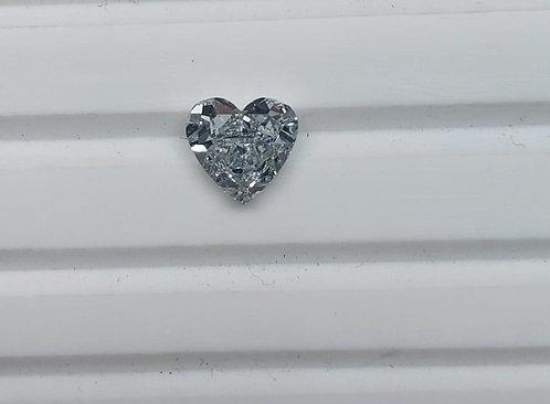 Heart Modified Brilliant Diamond Ring