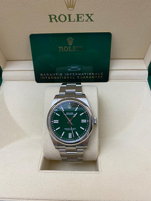 Rolex Oyster Perpetual 41 Green Dial