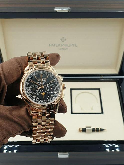 Patek Philippe 5270/1R-001 Rose Gold Perpetual Calendar Chronograph €140000