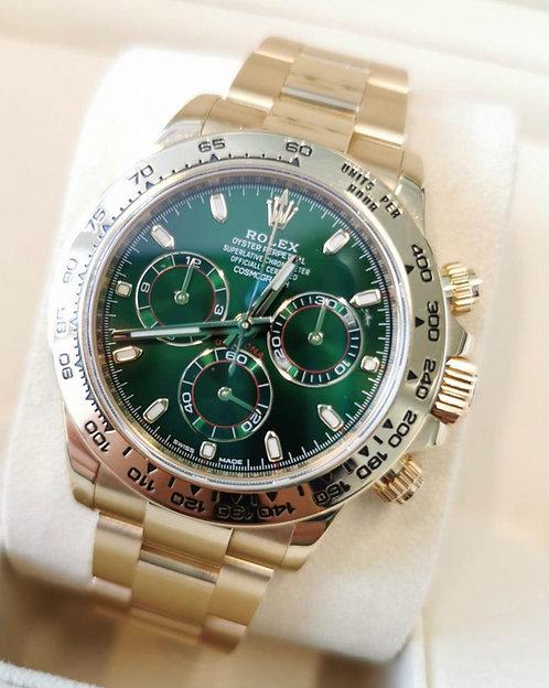 Rolex 116508 Daytona Green Dial €49000
