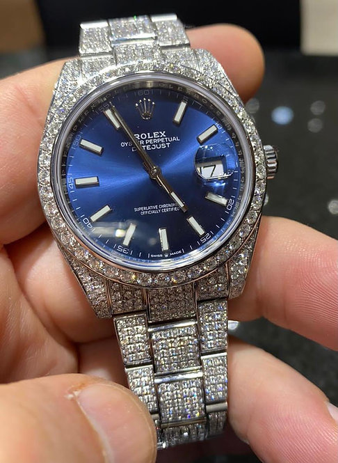 Rolex 126300 Datejust 41mm Stainless Steel Band Blue Dial €15000