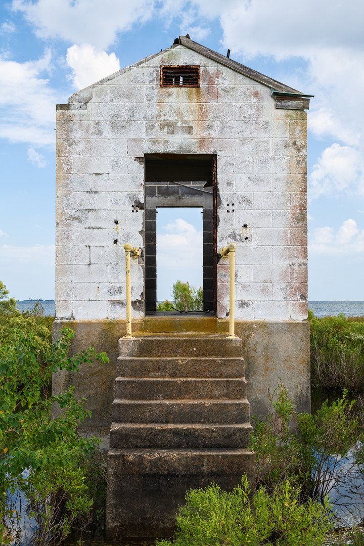 """""""Pump House, Highway 90, New Orleans East"""""""