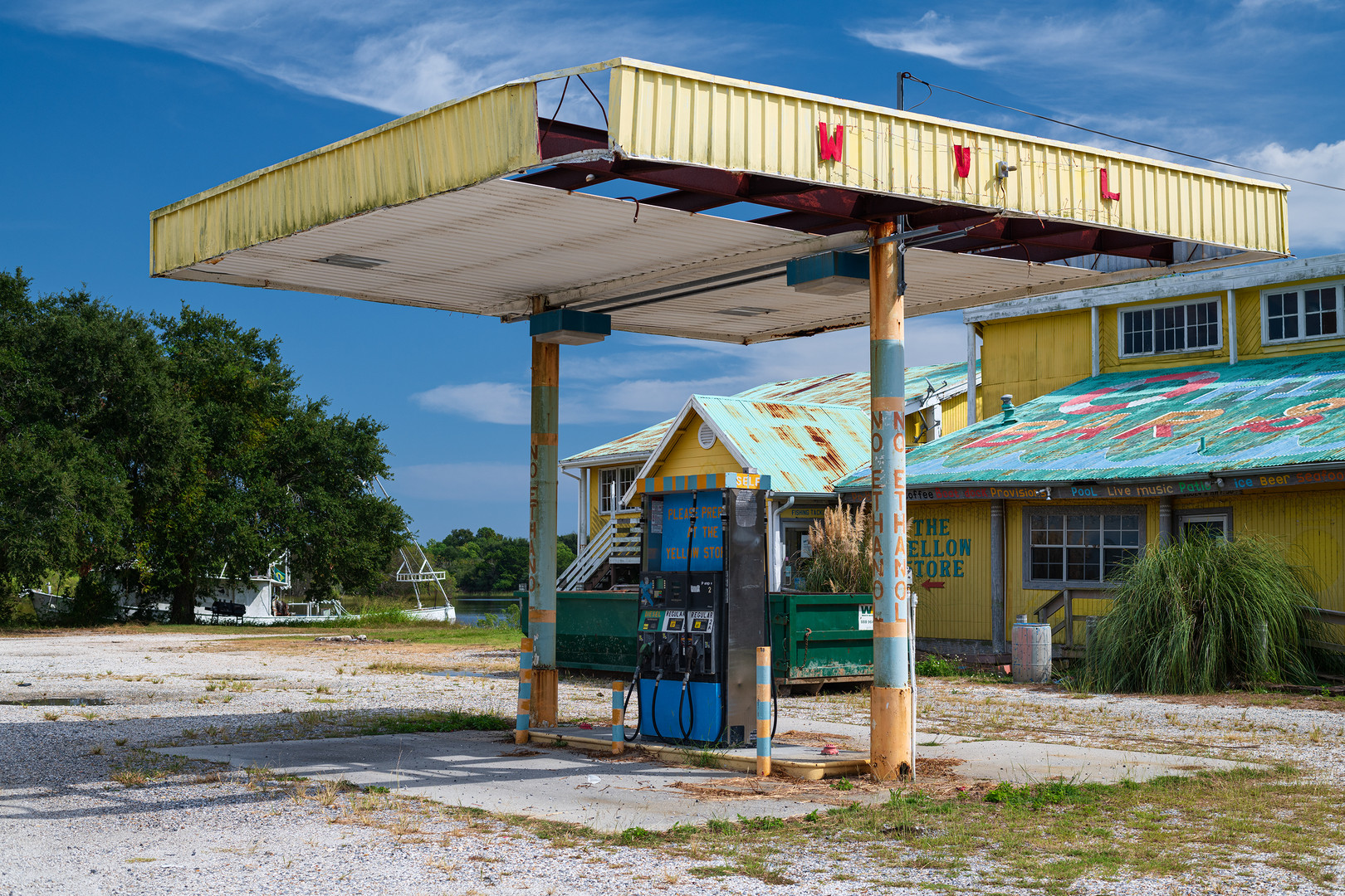 """The Yellow Store, Highway 90, New Orleans East"""
