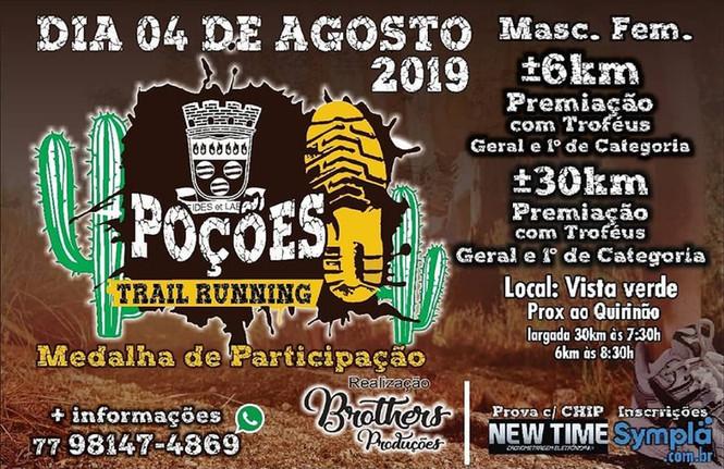 POÇOES TRAIL RUNNING
