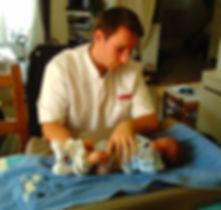 Ostéopathe nourrisson et bébé