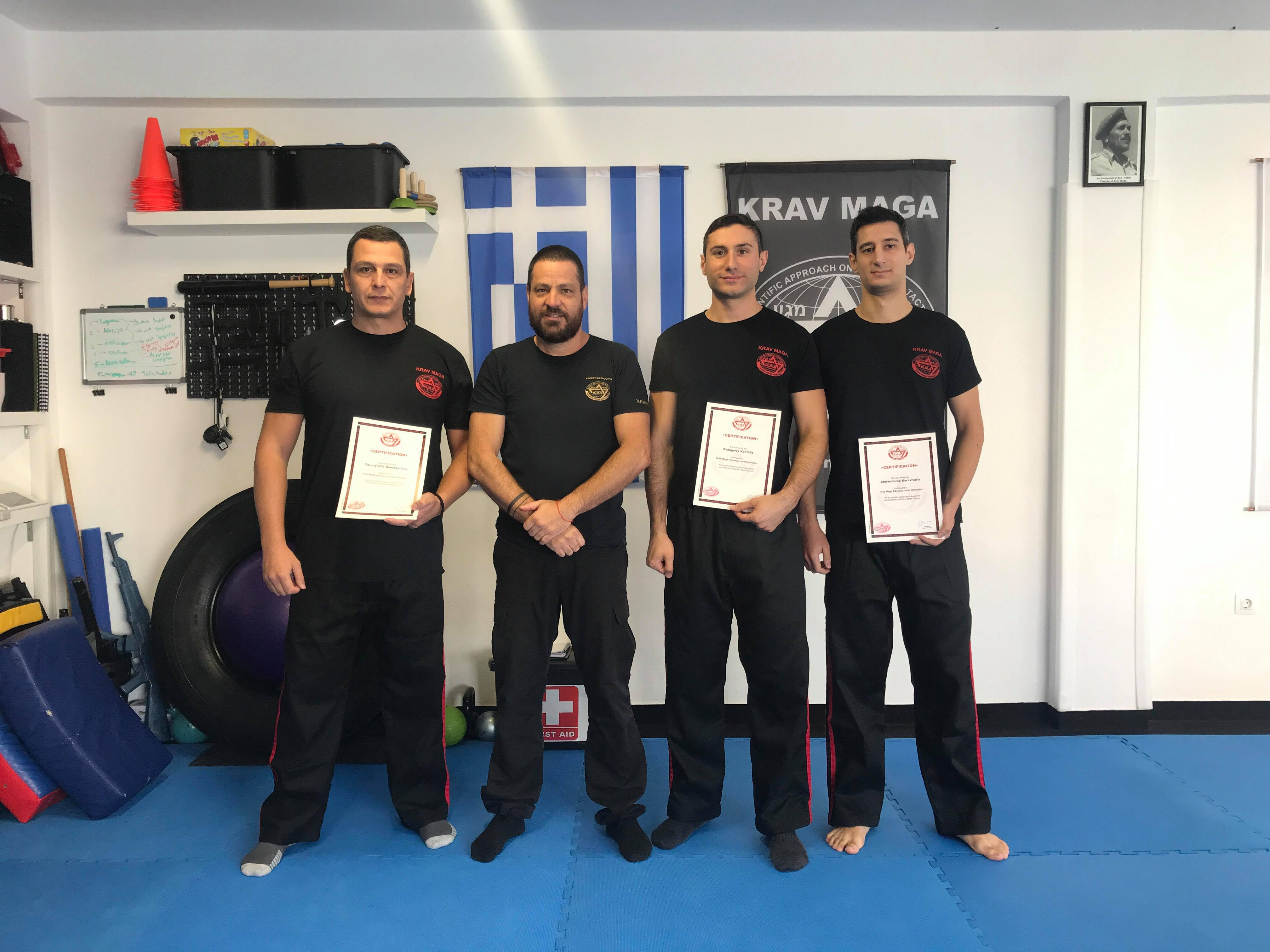 krav maga science, instructor, team