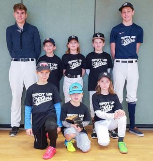 Auftakt der Schüler-Baseballmannschaft
