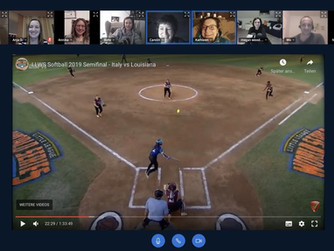 Play Ball! - Die virtuelle Offseason unserer Softballerinnen