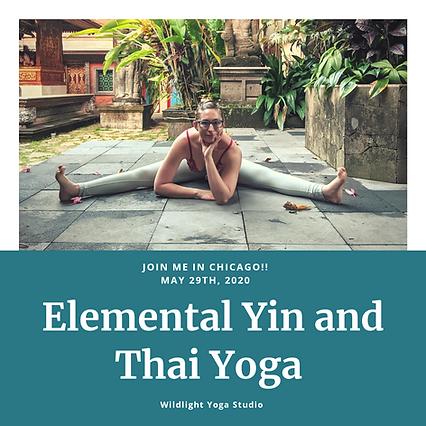 Wild Light Elemental Yin and Thai Yoga .