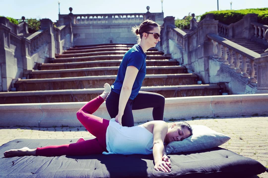 New Client Thai Yoga Therapy Session