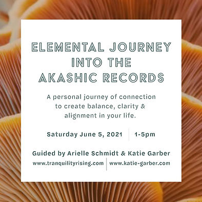 Elemental Journey into the Akashic Recor