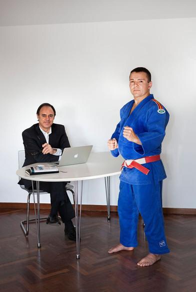 Fernando Blaya y José Cabas