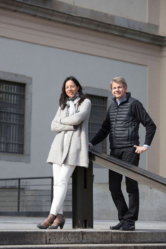 Silvia Jarabo y Javier Jaquotot