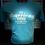 Thumbnail: Heather Carib Blue All American Mutt Shirt