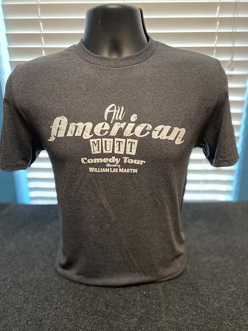 Heather Grey All American Mutt Shirt