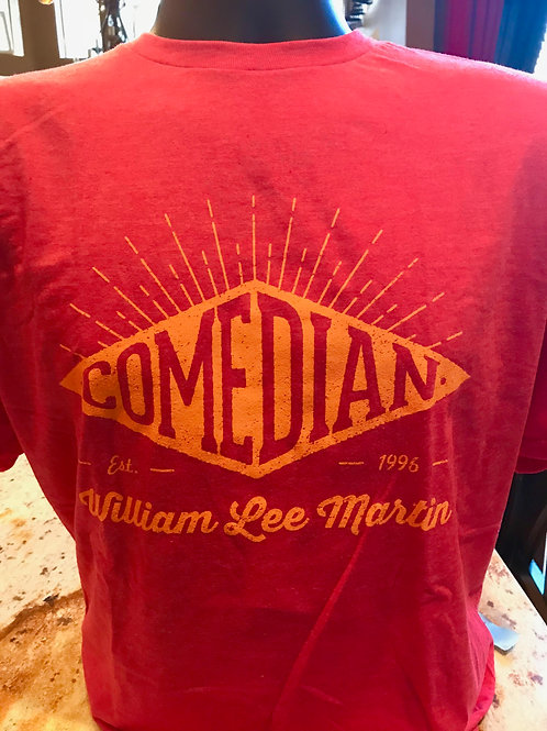 Comedian William Lee Martin Sun Burst Shirt