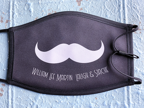Laugh and Stache Mask - FULL STACHE