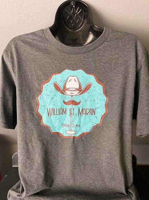 Comedian William Lee Martin Laugh & Stache Shirt