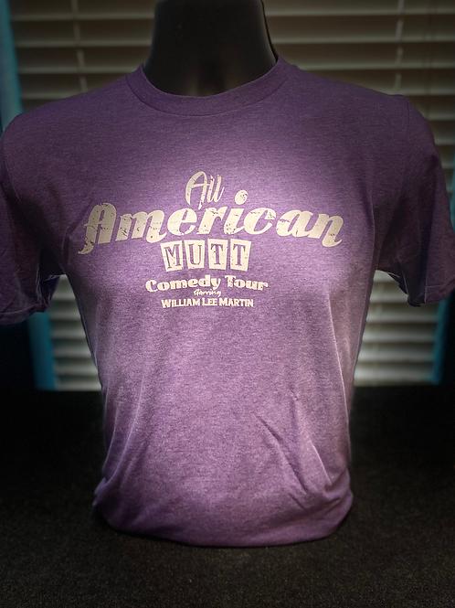 Purple All American Mutt Shirt
