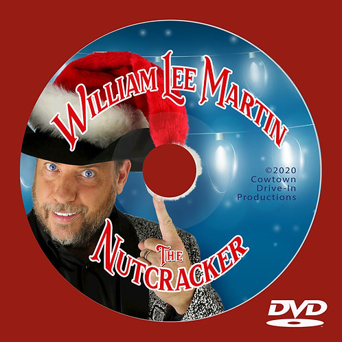 William Lee Martin - The Nutcracker - DVD