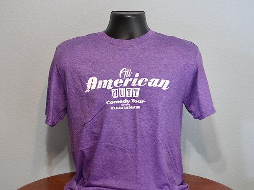Heather Purple All American Mutt Shirt