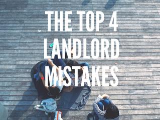 Landlord 101: Rookie Mistakes