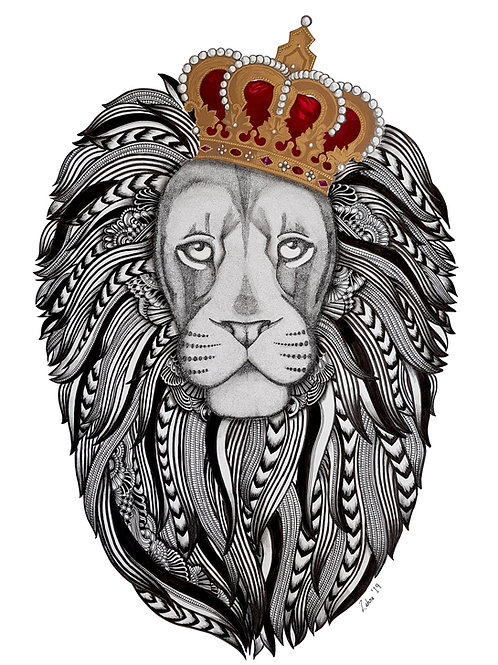 royal roar print.