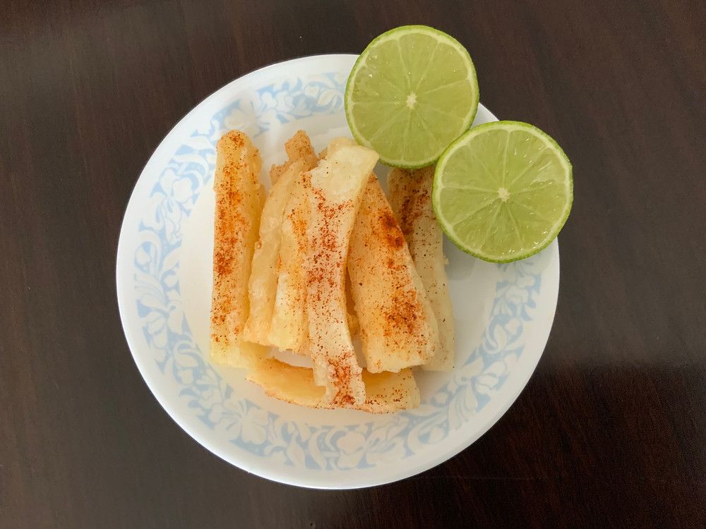 Plain Mogo   The Rasoi Recipes