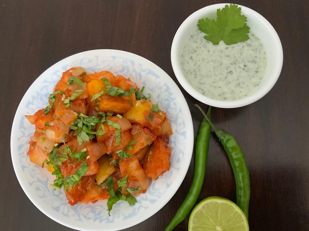 Mogo Schezwan | The Rasoi Recipes