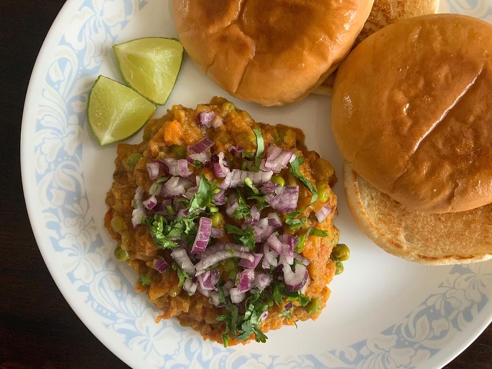 Pav Bhaji | The Rasoi Recipes