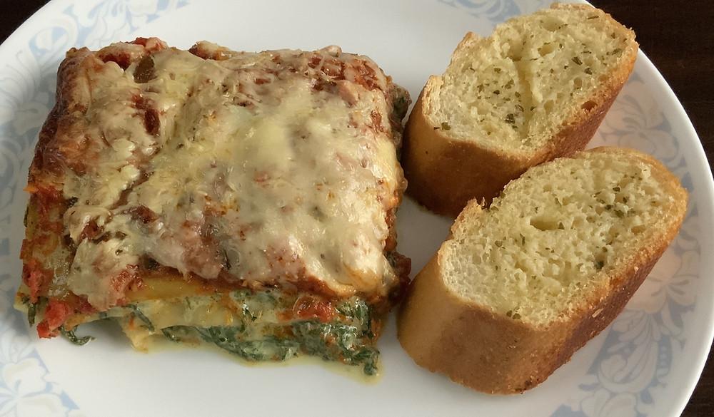 Spinach Lasagne | The Rasoi Recipes